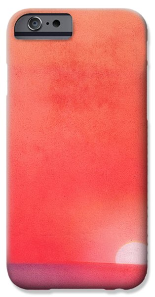 Sunset Impression iPhone Case by Angela Doelling AD DESIGN Photo and PhotoArt