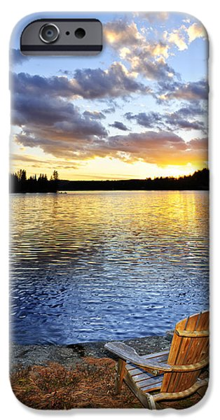 Sunset in Algonquin Park iPhone Case by Elena Elisseeva