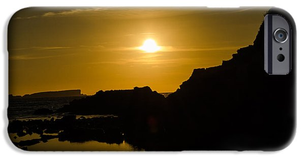 Consumerproduct iPhone Cases - Sunset in Baleal Beach iPhone Case by Alexandre Martins
