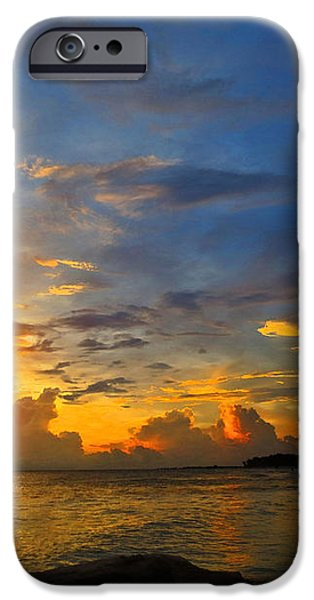 Sunset In Paradise - Beach Photography by Sharon Cummings iPhone Case by Sharon Cummings