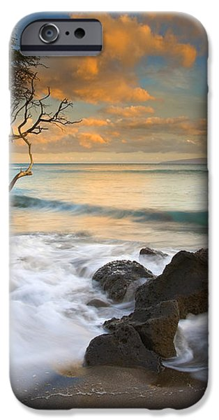 Sunset in Paradise iPhone Case by Mike  Dawson