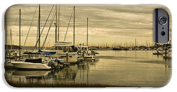 Best Sellers -  - Sausalito iPhone Cases - Sunset In Sausalito iPhone Case by Ben Aronoff
