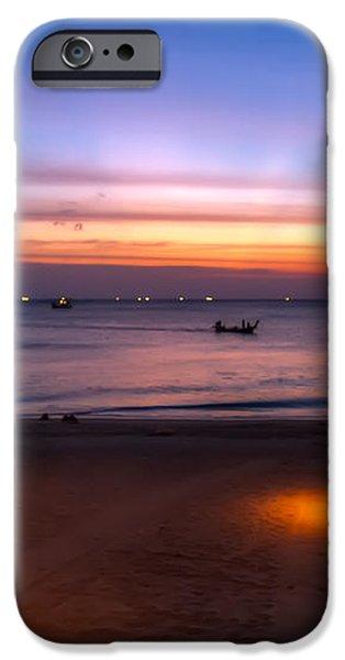 Sunset Lanta Island  iPhone Case by Adrian Evans