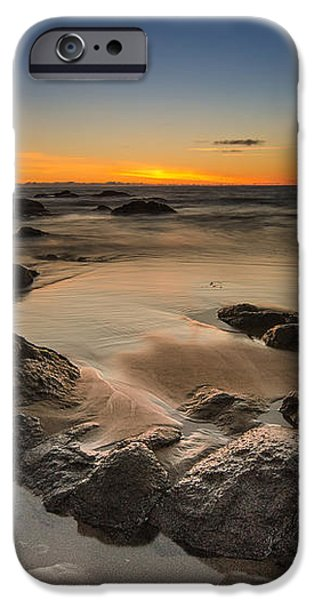 Sunset - Lincoln Beach iPhone Case by Tin Lung Chao