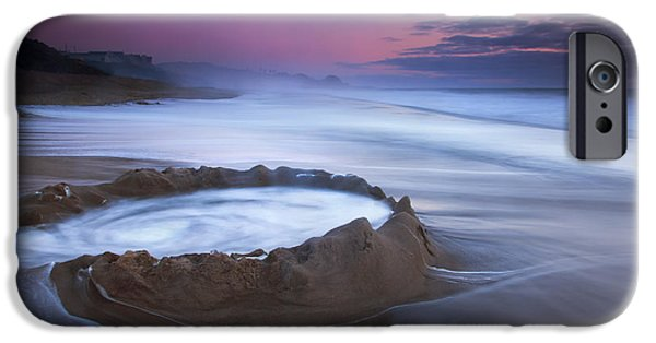 Sand Castles iPhone Cases - Sunset Maelstrom iPhone Case by Mike  Dawson