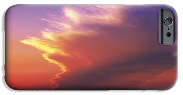 Il iPhone Cases - Sunset Marion Co Il Usa iPhone Case by Panoramic Images