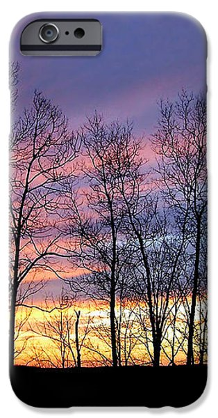 Sunset of the Century iPhone Case by Christina Rollo