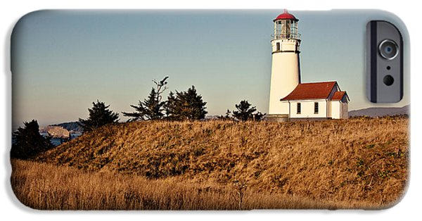 Industry iPhone Cases - Sunset on Cape Blanco iPhone Case by Scott Pellegrin