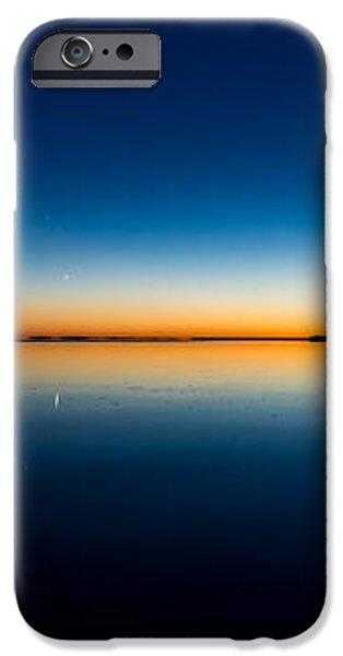 Sunset On Lake Milacs iPhone Case by Paul Freidlund