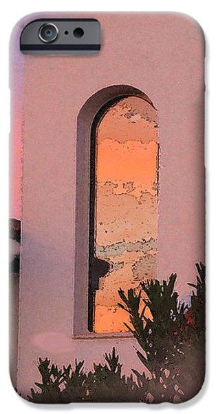 Sunset on Windows iPhone Case by Augusta Stylianou