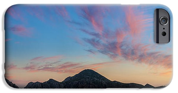 Sea iPhone Cases - Sunset Over Cabo iPhone Case by Sebastian Musial