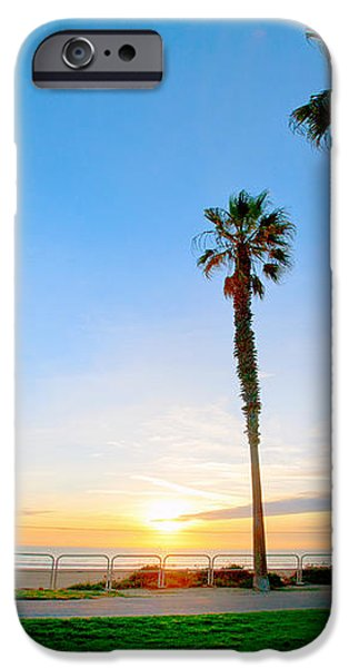 Sunset Over Santa Barbara iPhone Case by Artist and Photographer Laura Wrede