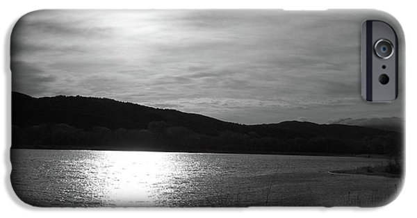Simplistic iPhone Cases - Sunset Over The Lake iPhone Case by Glenn McCarthy Art and Photography