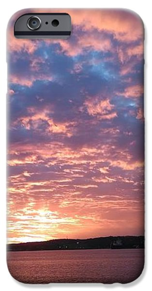 Sunset Over the Narrows Waterway iPhone Case by JOHN TELFER
