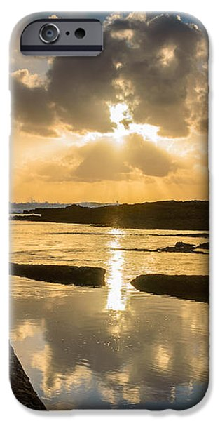 Sunset Over The Ocean I iPhone Case by Marco Oliveira