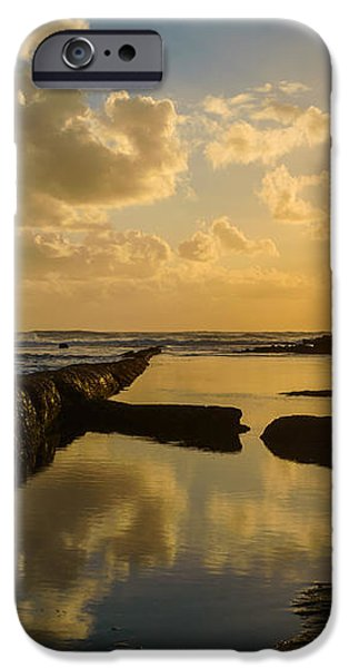 Sunset Over The Ocean II iPhone Case by Marco Oliveira