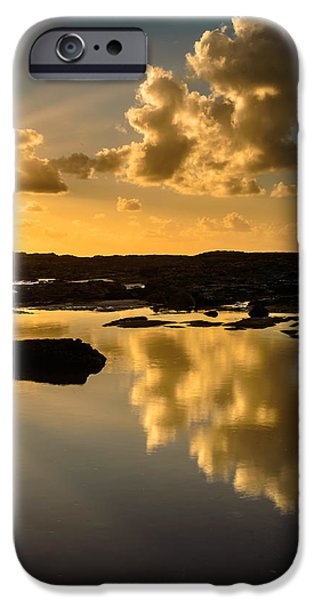 Sunset Over The Ocean V iPhone Case by Marco Oliveira