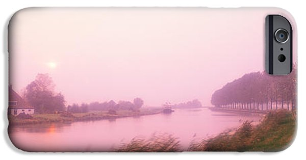Pastel iPhone Cases - Sunset Pumerend Netherlands iPhone Case by Panoramic Images