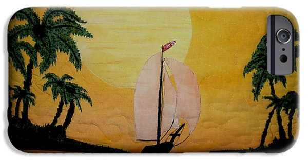 One Tapestries - Textiles iPhone Cases - Sunset Shelter iPhone Case by Linda Egland