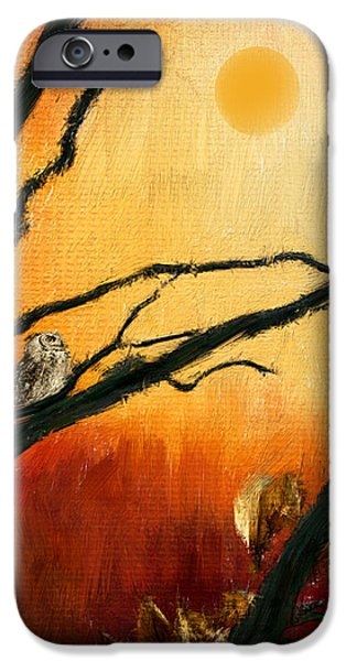 Sunset Sitting iPhone Case by Lourry Legarde