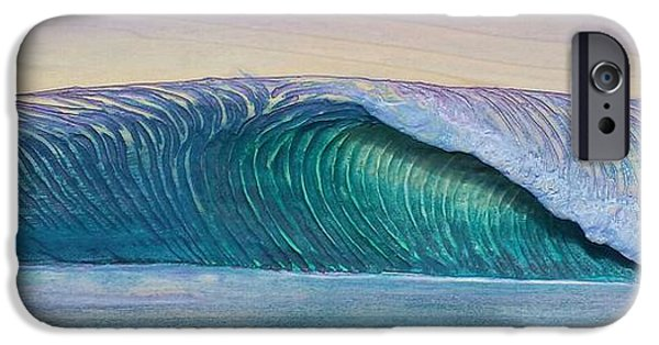 Ocean Reliefs iPhone Cases - Sunset Slab iPhone Case by Nathan Ledyard