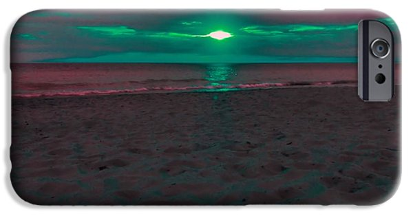 Ocean Sunset iPhone Cases - Sunset Spectrum iPhone Case by Dan Sproul