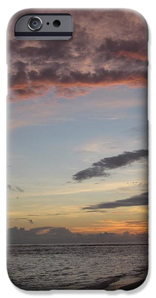 Sunset Stroll iPhone Case by Elizabeth Carr
