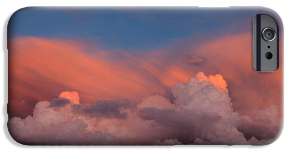 Pastel iPhone Cases - Sunset Ut Usa iPhone Case by Panoramic Images