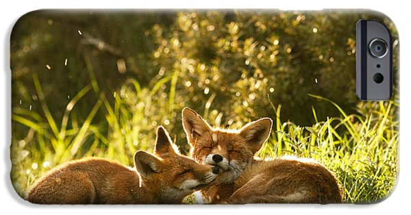 Bonding iPhone Cases - Sunshower iPhone Case by Roeselien Raimond