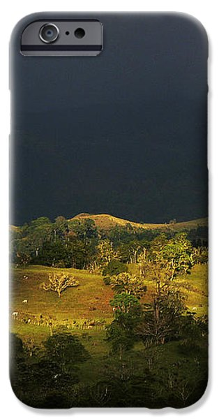 Sunspot after the storm iPhone Case by Heiko Koehrer-Wagner