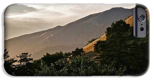 Vista Of Big Sur iPhone Cases - Sunswept  iPhone Case by Maureen J Haldeman