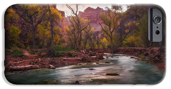 Peter Coskun iPhone Cases - Supai Sunrise iPhone Case by Peter Coskun