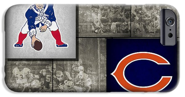 Patriots Photographs iPhone Cases - Super Bowl 20 iPhone Case by Joe Hamilton