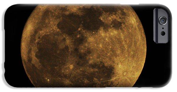 Super Moon iPhone Cases - Super Moon iPhone Case by Bill Cannon