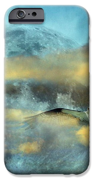 Super Moon Ensemble  iPhone Case by Betsy A  Cutler
