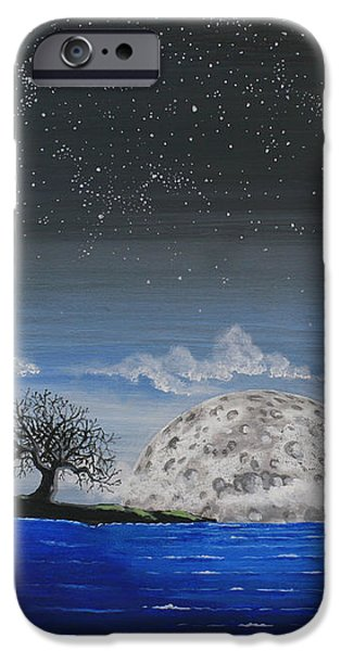 Super Moon iPhone Case by Jim Bowers