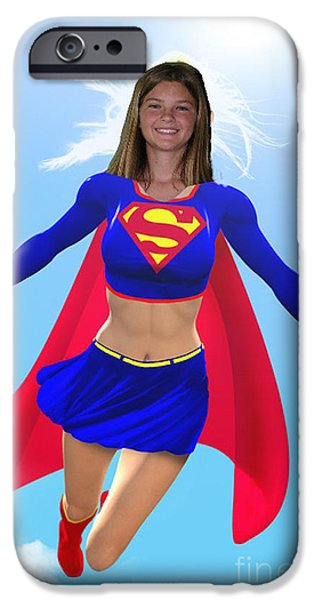 Super Nina iPhone Case by Allan  Hughes