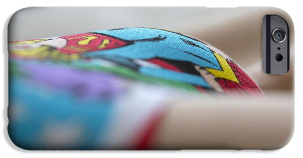 Supergirl Photographs iPhone Cases - Supergirl iPhone Case by David Hare