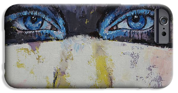 Michael iPhone Cases - Superhero iPhone Case by Michael Creese