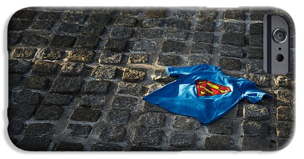 Fictional iPhone Cases - Superhero iPhone Case by Tim Gainey
