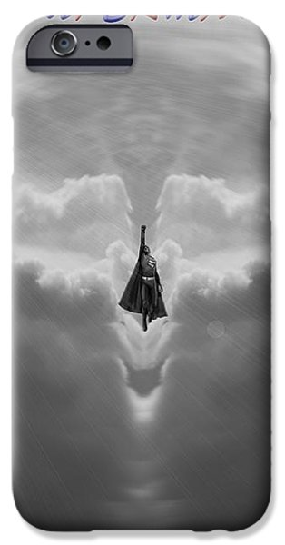 Superman iPhone Case by Dan Sproul