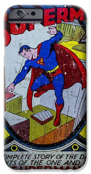 Superman iPhone Case by Mitch Shindelbower