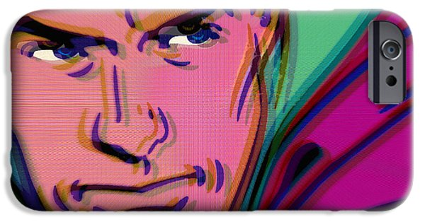 Empower iPhone Cases - Superman Pop 2 iPhone Case by Tony Rubino