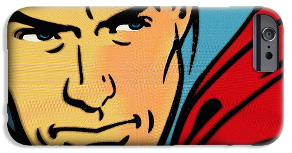 Lex Luthor iPhone Cases - Superman Pop iPhone Case by Tony Rubino