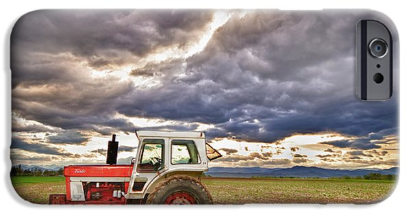 Corporate Art Photographs iPhone Cases - Superman Skies iPhone Case by James BO  Insogna