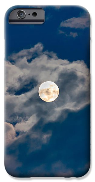 Supermoon iPhone Case by Robert Bales