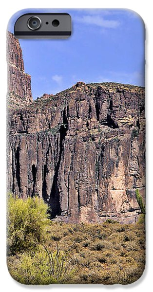 Superstition Wilderness Arizona iPhone Case by Christine Till