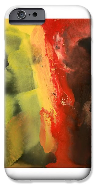 Abstract Digital Mixed Media iPhone Cases - Supreme Split iPhone Case by Craig Tinder
