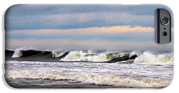 July 4 iPhone Cases - Surf City Surf iPhone Case by Mark Miller