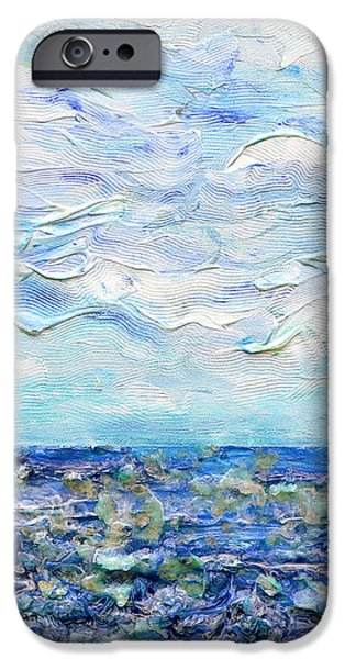 surf study iPhone Case by Regina Valluzzi